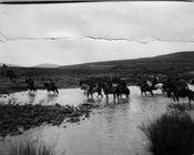 Troops crossing Rorkes Drift