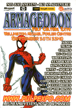 Cover of Armageddon Pulp Culture Expo Report