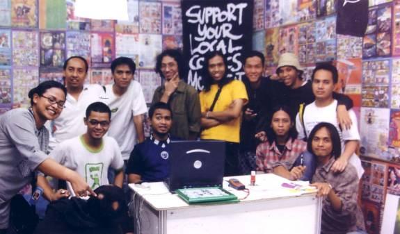 Cover of Quick Komik Queries with Masyarakat Komik Indonesia - Indonesian Comic Society