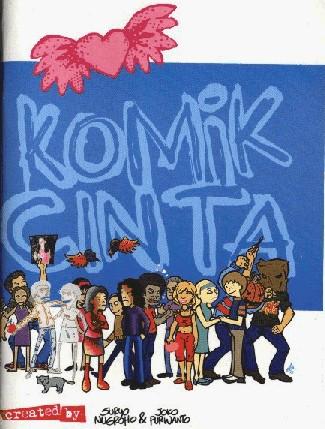 Cover of Indonesian Comics:  Quick Komik Queries with Komik Cinta