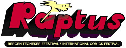 Cover of Raptus 2003: Norway's 8th year of an international comics festival